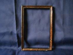 Antik fa képkeret képráma 26 x 18 cm