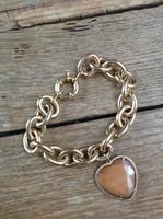Quality Italian gold plated jewelry bracelet