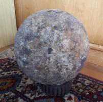 Törökkori kő ágyúgolyó