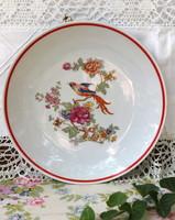 Zsolnay bird, tomato bird plate, wall plate