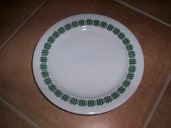 Alföldi tányér zöld dekorral
