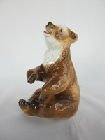 Royal dux porcelain teddy bear brown bear