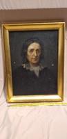 Antique painting: noble portrait
