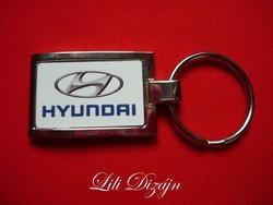 Hyundai elegant metal keychain