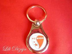 Fc sion metal keychain