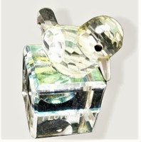 Small Crystal bird figure with