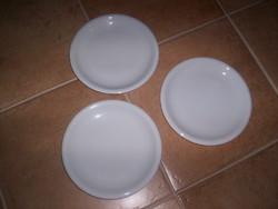 Fehér alföldi tányér, régebbi jellel