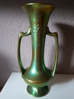 Zsolnay Art Nouveau eosin vase