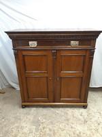 Old German low shelf cabinet renovated !!!