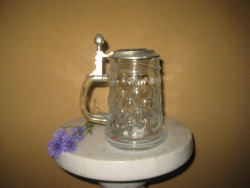 Beer krigli with tin lid 0.5 l