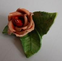Herend porcelain rose