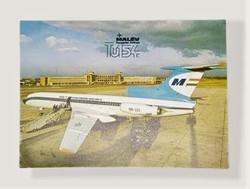 Malev Postcard circa 1990