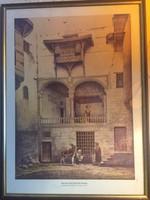 2 db David Roberts Litográfia (1838 és 1850)