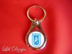 Fc universitatea craiova metal keychain