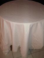 Beautiful antique white large size rose lacy vintage sheet