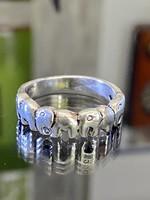 Ezüst Elefántos gyűrű
