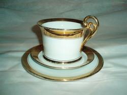 Antik Winterling teáscsésze tányérokkal