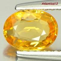 Super extra! Genuine, 100% term. Fanta orange sapphire gemstone 0.95ct (vvs-vsi)! Its value is HUF 237,500!