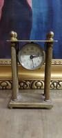 Antik, működő, asztali, vagy utazó óra EBOSA