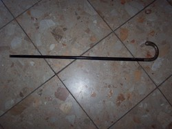 Very old silver walking stick