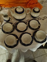 Zsolnay tea set for 6 people