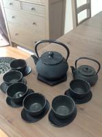 Original Japanese cast iron tea set