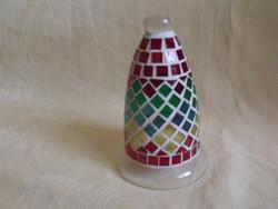 Mosaic mosaic glass bell ornament 2