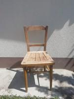 Régi vidéki, paraszti fa szék