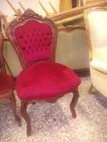 Antik barok szék 1 darab