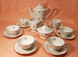 Marie Luise Seltmann Weiden GERMANY 6 darabos teás/kávéskészlet, kistányérok BAVARIA!