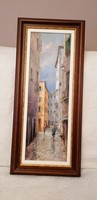 Oil painting alley