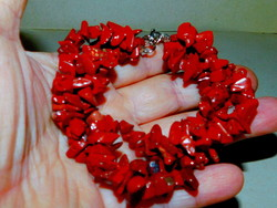 Red jasper 3 row twisted mineral bracelet