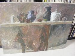 Badics Csendélet olaj-vászon 85X110 cm
