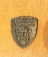 1938 MDEOSZ jelvény - Székesfehérvár 1038 - 1938 SZENT ISTVÁN ÉV