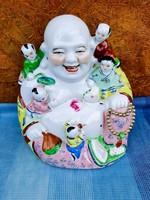 Chinese porcelain budha 27.5Cm