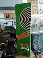 Topfit cukorkás automata, szőlőcukor adagoló, 50-60-as évekből