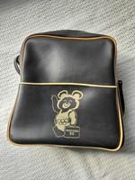 Moscow Olympic bag- teddy bear