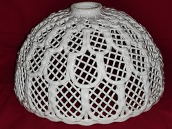 Beautiful original large rare lacy lampshade