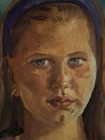 Eszter Mattioni (1902-1993): portrait of a girl
