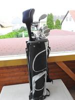 Golfütő szett táskában