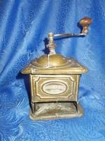 Antique copper grinder incomplete