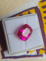 Beautiful pink sapphire with 8ct certificate