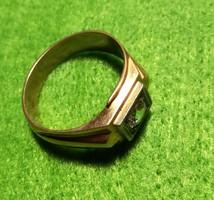 14 karátos, 7,5 grammos női arany gyűrű