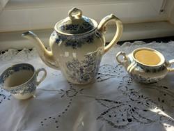 Vintage teás kanna cukortartó csésze   Villeroy & Boch fasan