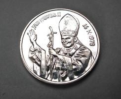 Pope John Paul II 1979, Polish silver commemorative medal.
