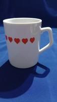 Zsolnay heart mug