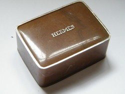 Vintage hermes equipage in mini soap box