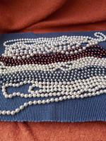 Hosszú tekla gyöngy nyaklánc 6 darab