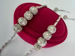 Régi ezüst nyaklánc