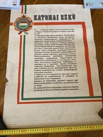 Military oath poster